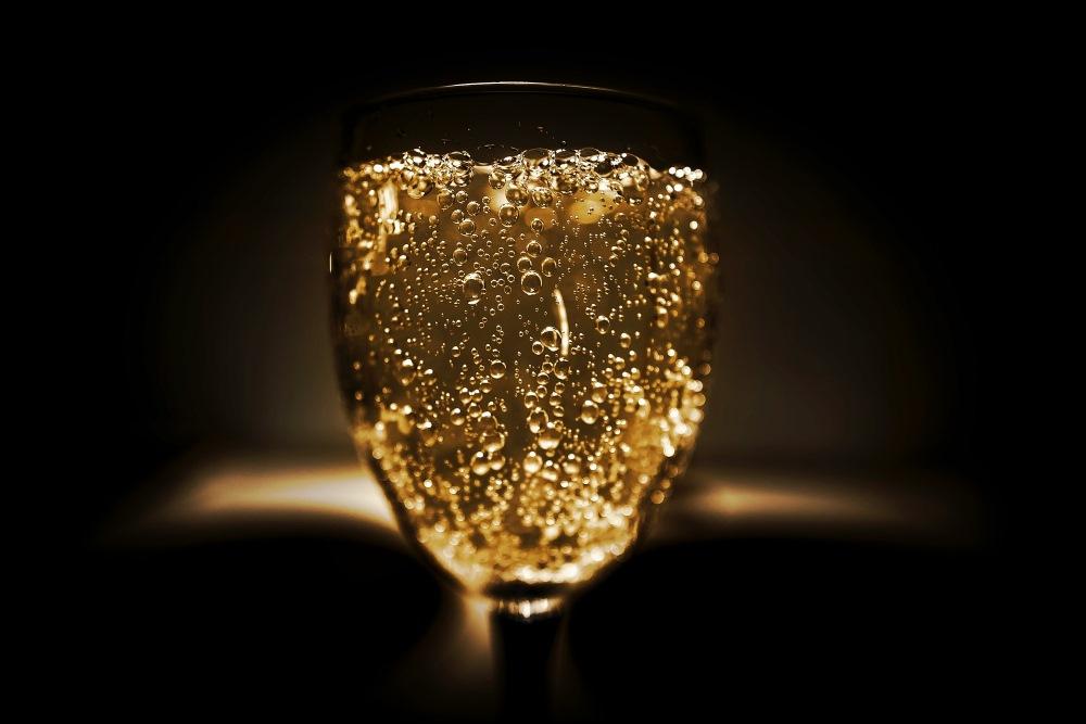 champagne fin de journee